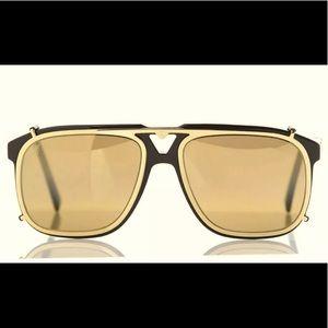 NEW Louis Vuitton Satellite Sunglasses + 2 Clips